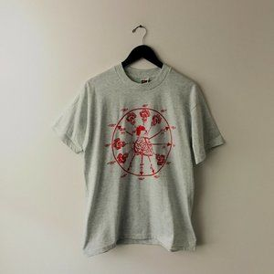 VINTAGE Torsades De Point Graphic Medical T Shirt
